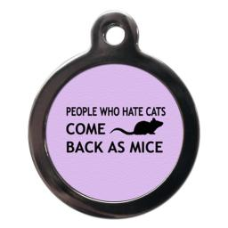 Lilac People Who Cat Tags