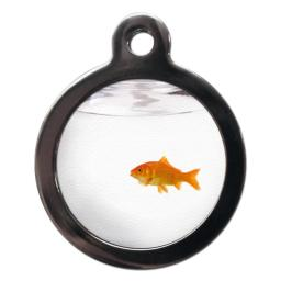 Fun Goldfish Cat Entity Tag