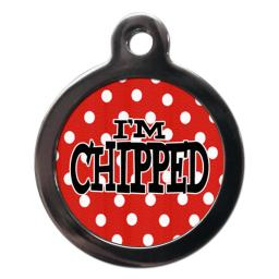I'm Chipped Red Polka Dot