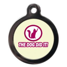 The Dog D It Cat Entity Tag