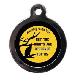 The Nights Are Reserved For Us Cat Tag