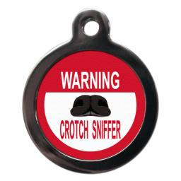 Warning Crotch Sniffer