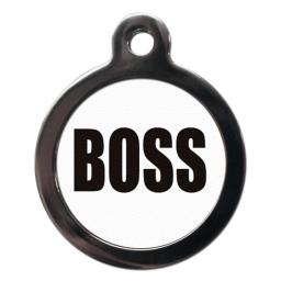 Boss Dog Entity Tag
