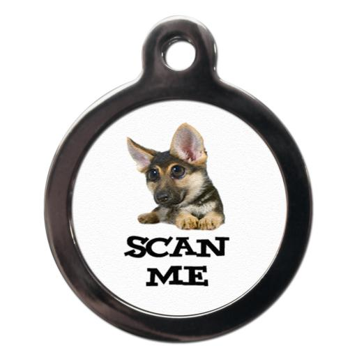 Scan Me German Shepherd Tags