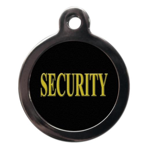 Security 2 Dog Entity Tag