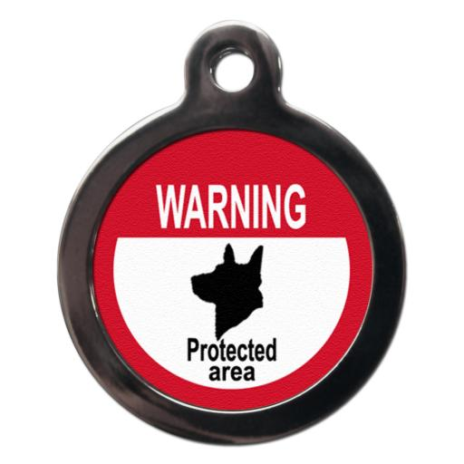 Warning Protected Area