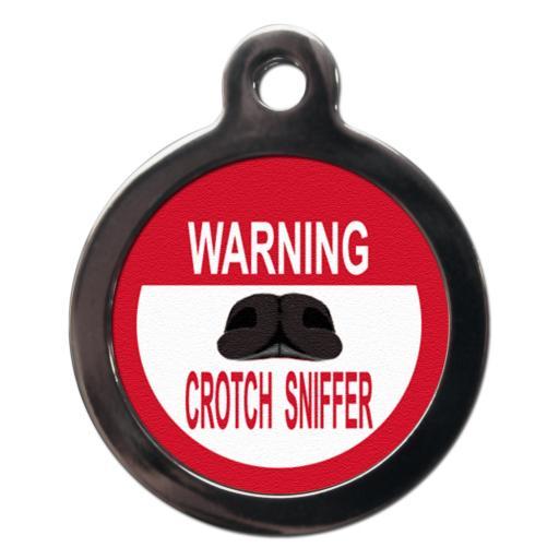 Warning Crotch Sniffer