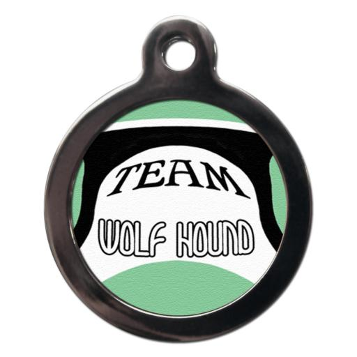 Team Wolfhound Name Tag