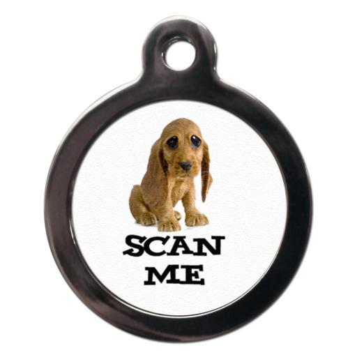 Scan Me Cocker Spaniel