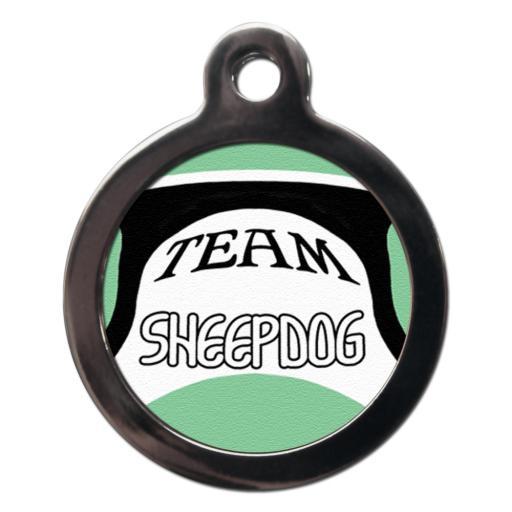Team Sheepdog Name Tag