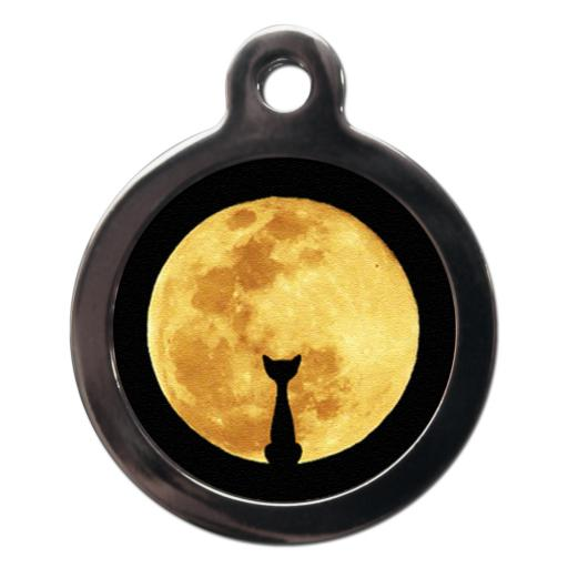 Cat And Moon Cat Entity Tag