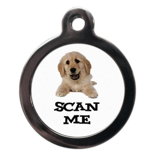 Scan Me Golden Retriever
