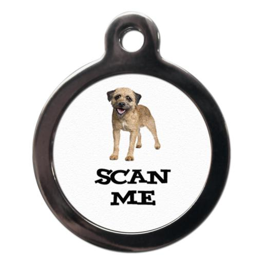 Scan Me Border Terrier