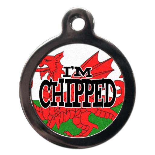 I'm Chipped The Red Dragon