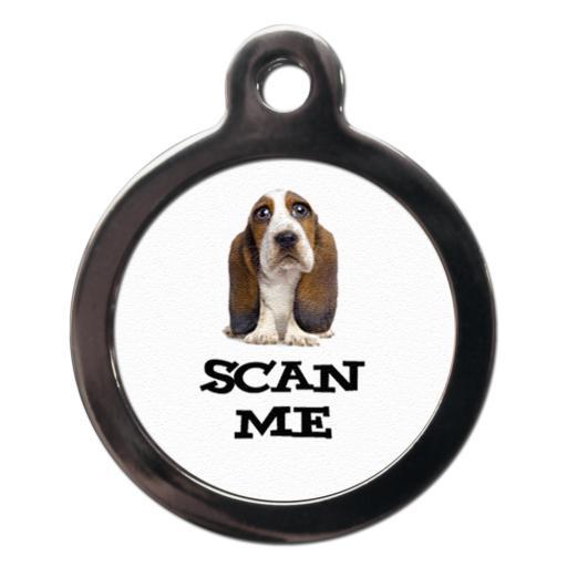 Scan Me Basset Hound
