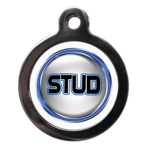 Fun Stud Dog Entity Tag